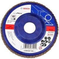 Disco Flap Bluemetal Base Plastica Gr40