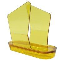 Porta Guardanapos Pequeno Trama - Amarelo
