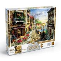 Puzzle 2000 peças Villaggio D'italia