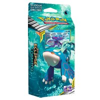 Pokémon Sol Lua 12 Starter Eclipse Cósmico Kyogre - Copag