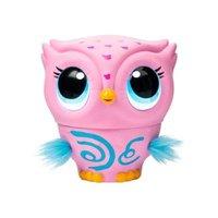 Brinquedo Interativo Owleez Coruja Rosa - Sunny