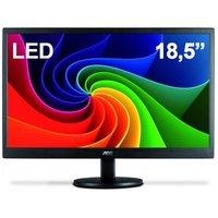 Monitor Widescreen LCD LED 18.5` AOC HD E970SWNL
