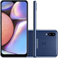 Smartphone Samsung Galaxy A10s 32GB Dual Chip Tela 6.2 Octa-Core 4G Câmera 13MP+2MP - Azul