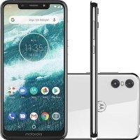Smartphone Motorola One XT1941-3 64GB Tela 5.9` Dual Traseira 13+5MP - Branco