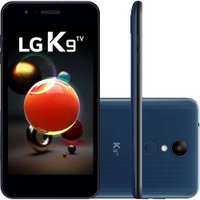 Smartphone LG K9 TV Dual Chip Tela 5` Quad Core 1.3 Ghz 16GB 4G Câmera 8MP - Azul