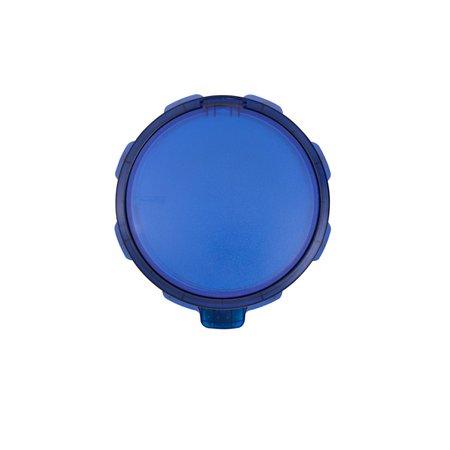 Lixeira Inox Tramontina Sofie Inox Scotch Brite e Detalhes em Plástico Translúcido com Pedal 5 L - Azul