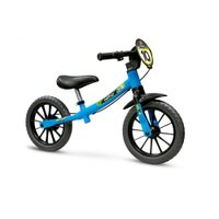 Bicicleta Infantil Aro 12 Sem Pedal Balance Bike Masculina - Nathor Azul