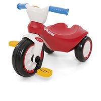 Carrinho De Pedal Policiclo Andador - Poliplac Vermelho