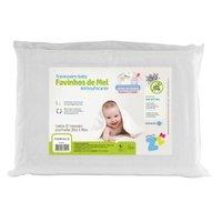 Travesseiro Favinhos De Mel Baby Antissufocante - Fibrasca Branco
