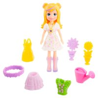 Conjunto Polly Pocket Pequeno Polly Fashion Floral - Mattel