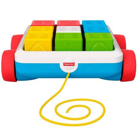 Fisher-Price Carrinho de Blocos - Mattel