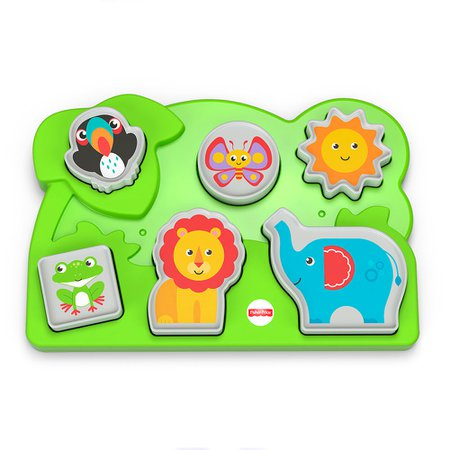 Fisher-Price Quebra-Cabeça Animais da Selva - Mattel