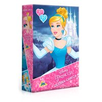 Quebra-Cabeça Princesas 60 Peças Cinderela - Toyster