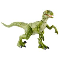 Figura Jurassic World Batalha Feroz Velociraptor - Mattel