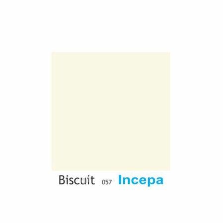Assento Sanitario Almofadado Thema Bege Claro (Biscuit) para Vaso Incepa