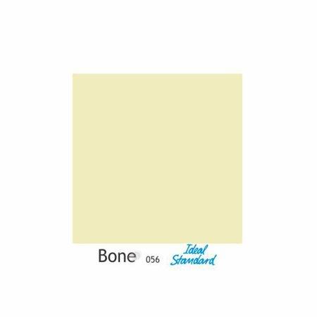 Assento Sanitario Poliester com Amortecedor Paris Bone (Bege Claro) para Vaso Ideal Standard