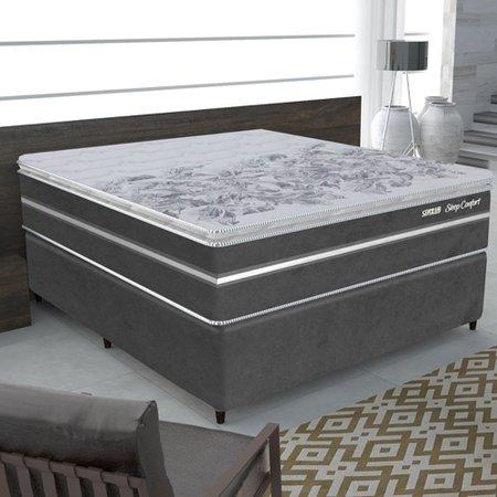Colchão Casal Gazin Sleep Confort Mola Pock 158x198 cm 610158/92806