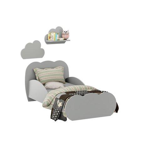 Mini-Cama Infantil Nuvem Multimoveis