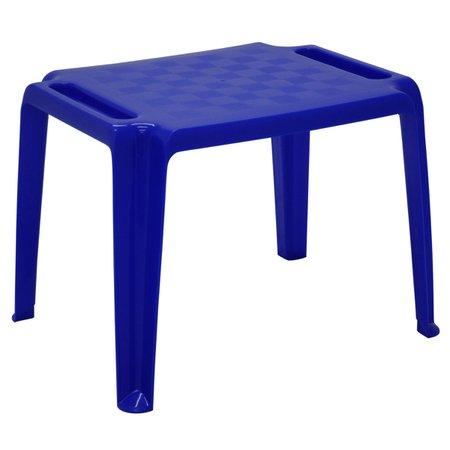 Mesa Infantil Tramontina Dona Chica em Polipropileno Azul