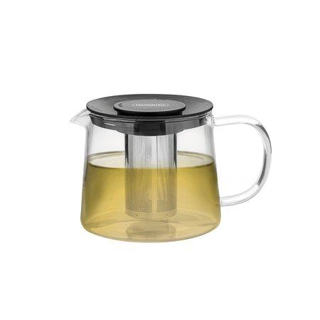 Bule para Chá Tramontina em Vidro e Aço Inox com Infusor 900 ml