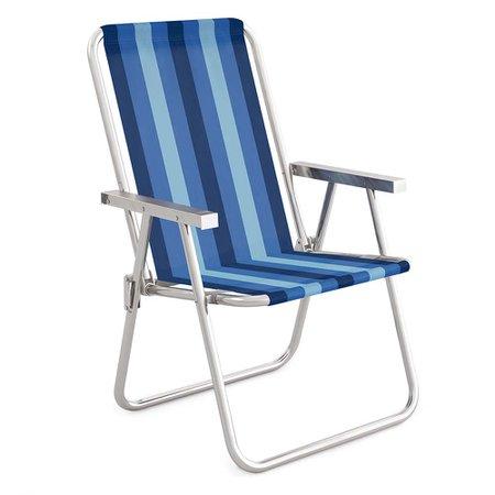 Cadeira Alta Conforto Alumínio - 2236