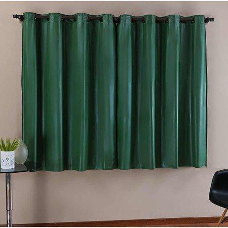 Cortina Blackout Corta Luz 2m x 1,30m Tecido PVC - Verde