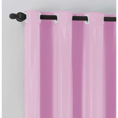 Cortina Blackout Corta Luz Juvenil 2m x 1,30m Tecido PVC - Rosa