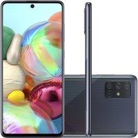 Celular Samsung Galaxy A71 Preto 6GB 128GB Tela 6.7