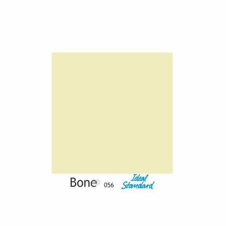 Assento Sanitario Poliester Ezedra Bone (Bege Claro) para vaso Ideal Standard