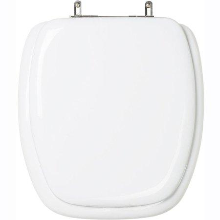 Assento Sanitario Almofadado Fast Branco para bacia Deca