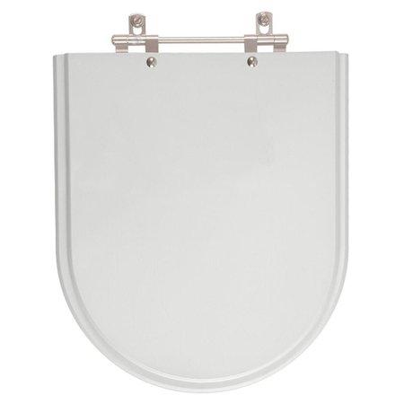Assento Sanitario com Amortecedor Carrara Cinza Real para Vaso Deca