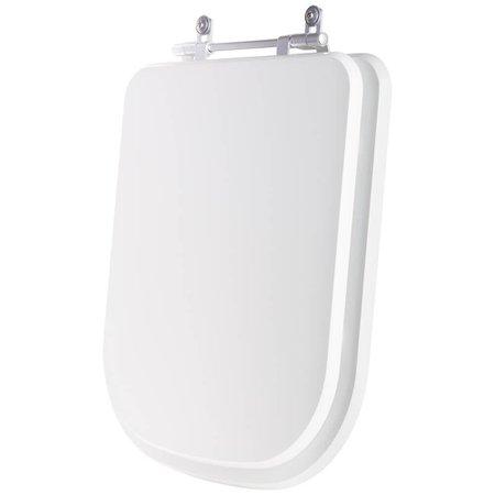 Assento Sanitário Poliester Axis Branco Para Louça Deca