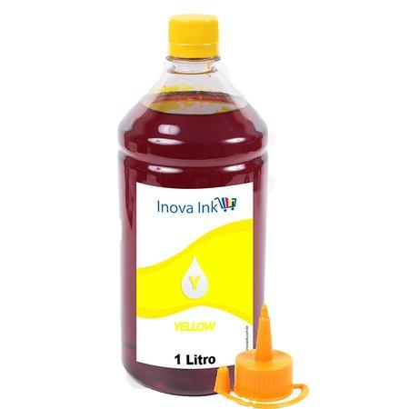 Tinta para cartucho HP 60 Yellow Corante 1 Litro Inova Ink