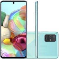 Celular Samsung Galaxy A71 Azul 6GB 128GB Tela 6.7