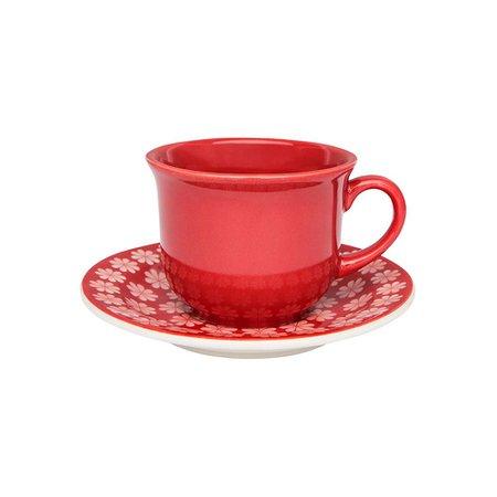 Aparelho de Jantar E Chá 30 Peças Floreal Renda