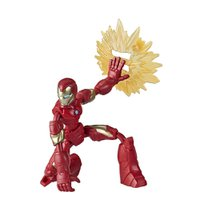 Boneco Homem de Ferro Vingadores Bend and Flex - Hasbro
