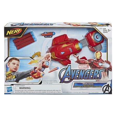 Lançador Nerf Homem de Ferro Power Moves - Hasbro