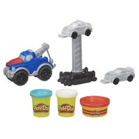 Conjunto Play Doh Caminhão de Reboque - Hasbro