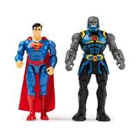 Mini Figuras Superman e Darkseid DC Comics - Sunny