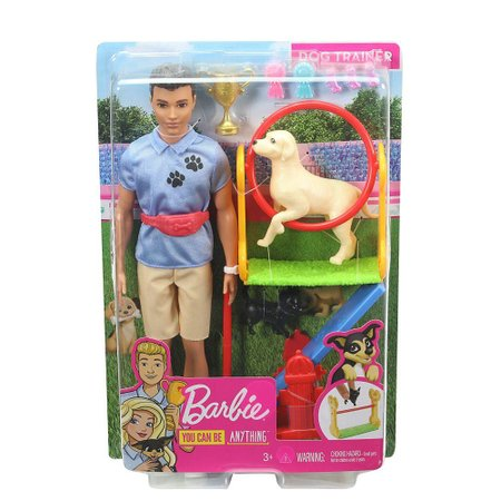Barbie Playset Ken Treinador de Cães - Mattel