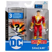 Mini Figura DC Comics Shazam Acessórios Surpresa - Sunny
