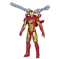 Boneco Homem de Ferro Vingadores Titan Hero Lançador -Hasbro