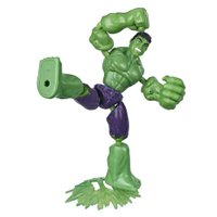 Boneco Hulk Vingadores Bend and Flex - Hasbro
