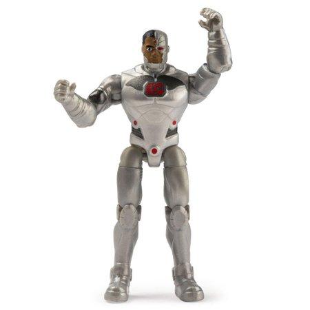 Mini Figura DC Comics Cyborg Acessórios Surpresa - Sunny