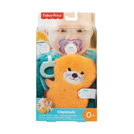 Fisher-Price Porta Chupeta Animais Sensoriais Lontra-Mattel