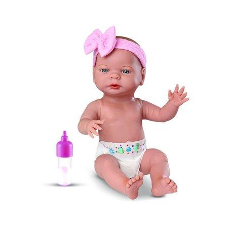 Boneca Roma Babies Primeira Mamadeira - Roma