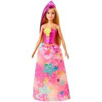 Barbie Dreamtopia Princesa Loira Vestido Floral - Mattel