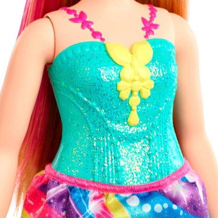 Barbie Dreamtopia Princesa Loira Vestido Borboleta - Mattel