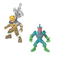 Mini Figuras Fortnite Battle Hound e Flytrap- Fun Divirta-se