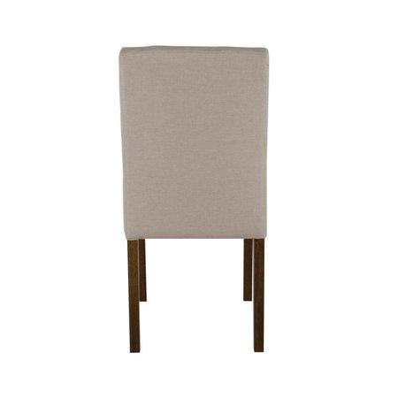 Cadeira de Jantar Estofada Beliz - Wood Prime 33291